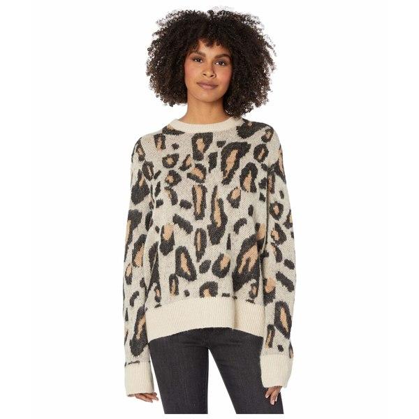 ボルコム レディース ニット&セーター アウター Animalfi Coast Pullover Sweater Leopard