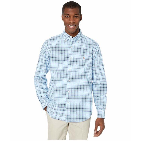 ラルフローレン メンズ シャツ トップス Classic Fit Oxford Shirt Blue/Turquoise Multi
