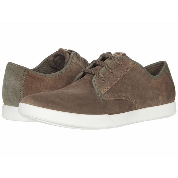 エコー メンズ スニーカー シューズ Collin 2.0 Simple Sneaker Dark Clay/Dark Clay