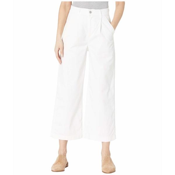 リーバイス レディース カジュアルパンツ ボトムス Pleated Wide Leg Chino Pants White
