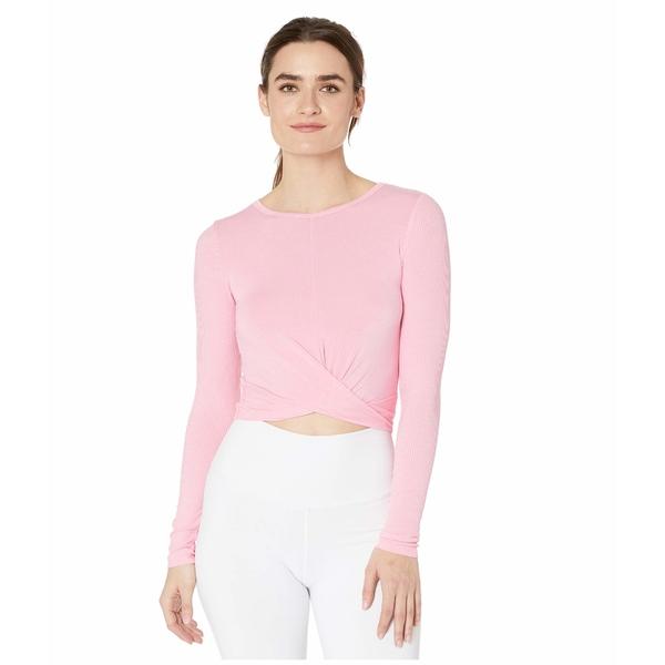 アロー レディース シャツ トップス Cover Long Sleeve Top Macaron Pink