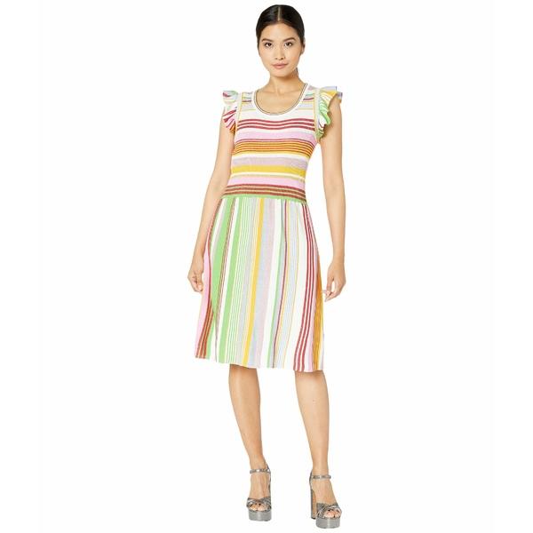 ブティックモスキーノ レディース ワンピース トップス Striped Knit Dress Multi