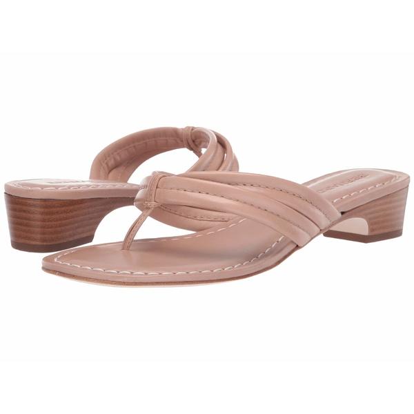 ベルナルド レディース サンダル シューズ Miami Demi Heel Sandals Blush Antique Calf