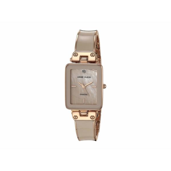 アンクライン レディース 腕時計 アクセサリー Diamond Dial Watch Pink/Rose Gold-Tone