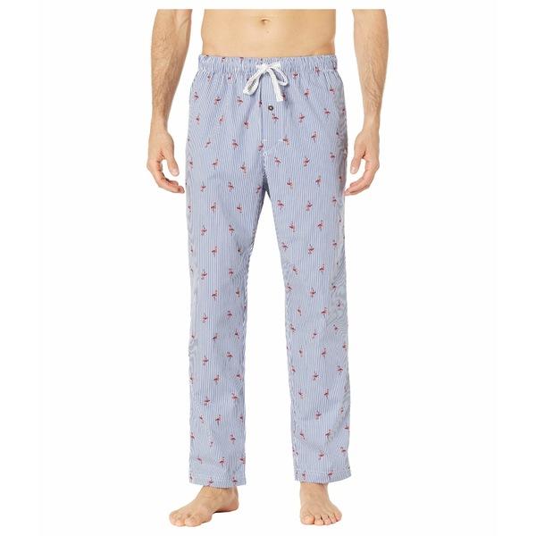 トッミーバハマ メンズ ナイトウェア アンダーウェア Printed Woven Pants Flamingo Stripe