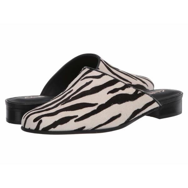 クラークス レディース スリッポン・ローファー シューズ Pure Blush Zebra Animal Print