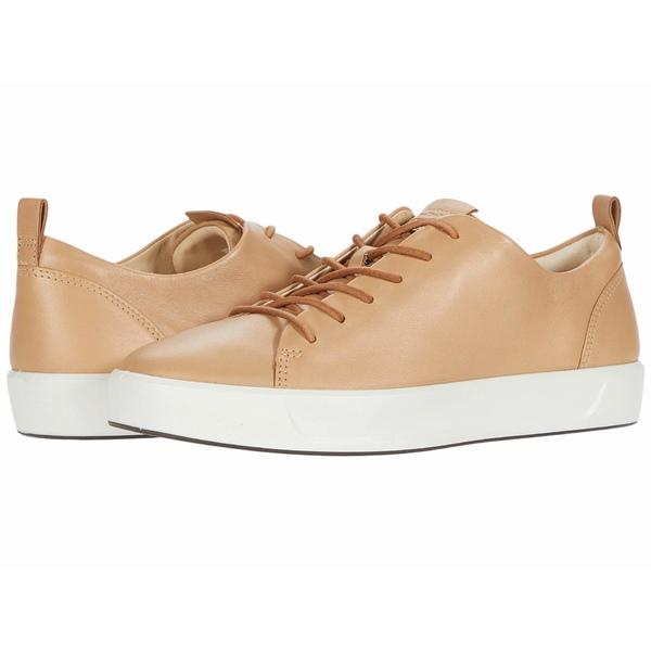 エコー レディース スニーカー シューズ Soft 8 Dri-Tan LX Sneaker Latte Calf Leather
