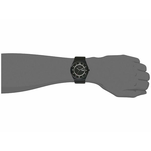 スカーゲン メンズ 腕時計 アクセサリー Melbye Three Hand Watch SKW6576 Black StainJFcuTlK13