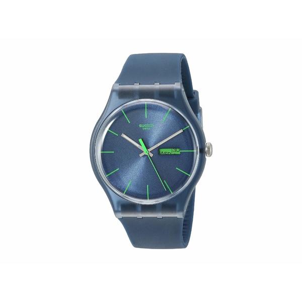 スワッチ メンズ 腕時計 アクセサリー Blue Rebel - SUON700 Blue