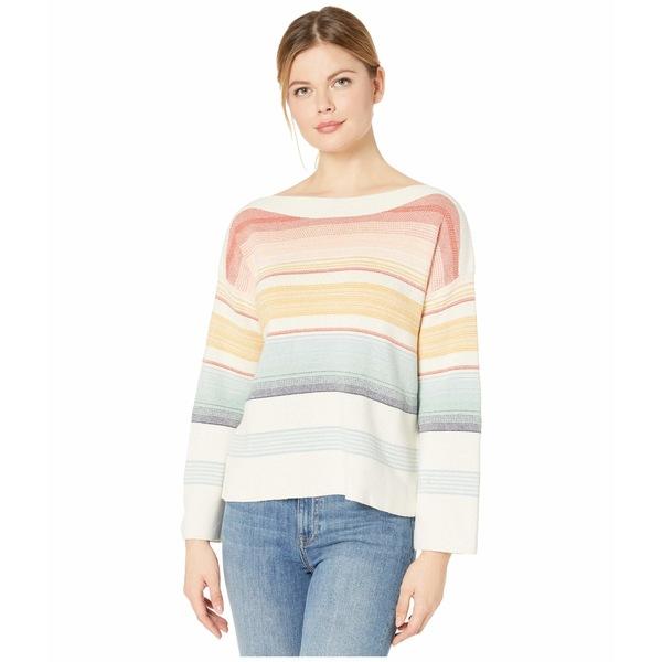 ペンドルトン レディース ニット&セーター アウター Horizon Cotton Stripe Sweater Chili Multi