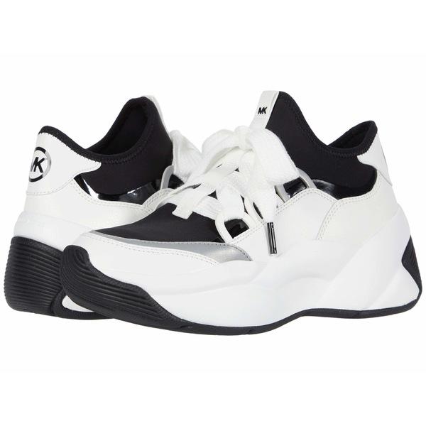 マイケルコース レディース スニーカー シューズ Sparta Trainer Black/Optic White