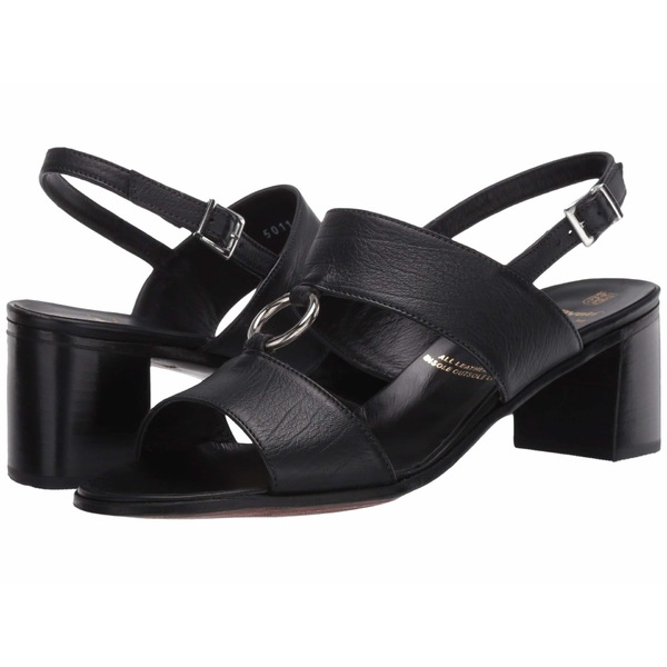 グラベティ レディース ヒール シューズ Sandal with Metal Ring Black