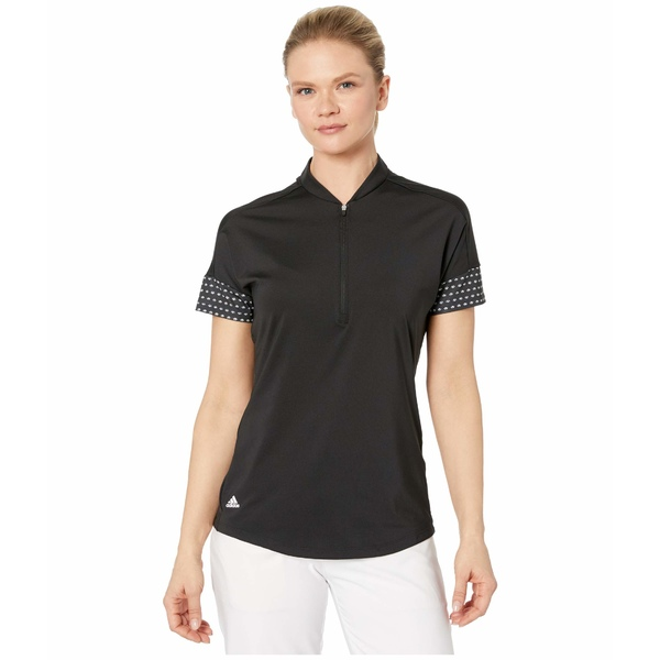 アディダス レディース シャツ トップス Ultimate365 Printed Polo Shirt Black