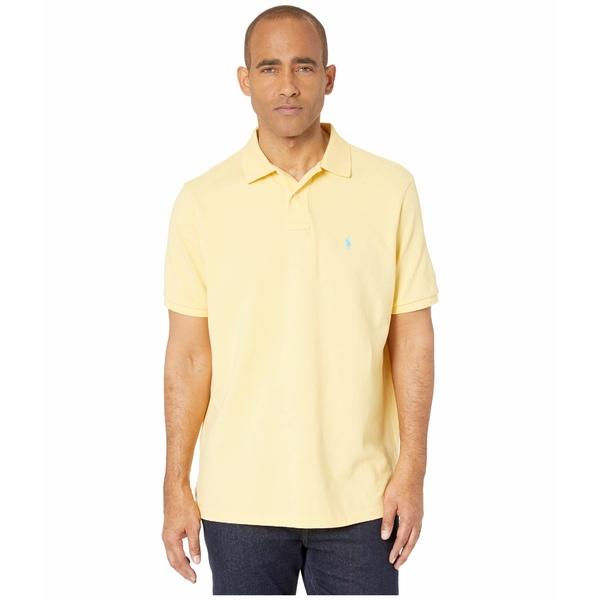 ラルフローレン メンズ シャツ トップス Classic Fit Mesh Polo Empire Yellow