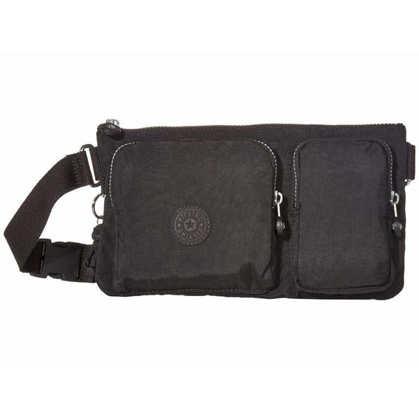 キプリング レディース ボディバッグ・ウエストポーチ バッグ Presto Up Waistpack Black Noir