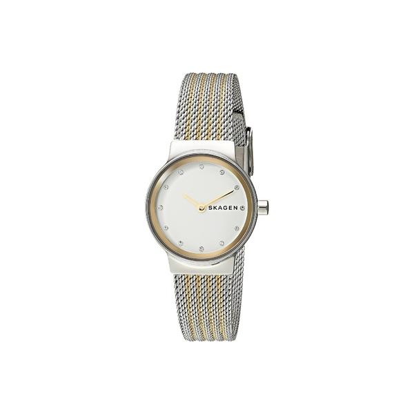 スカーゲン レディース 腕時計 アクセサリー Freja Two-Hand Stainless Steel Mesh Watch SKW2698 Two-Tone Stainless Steel Mesh