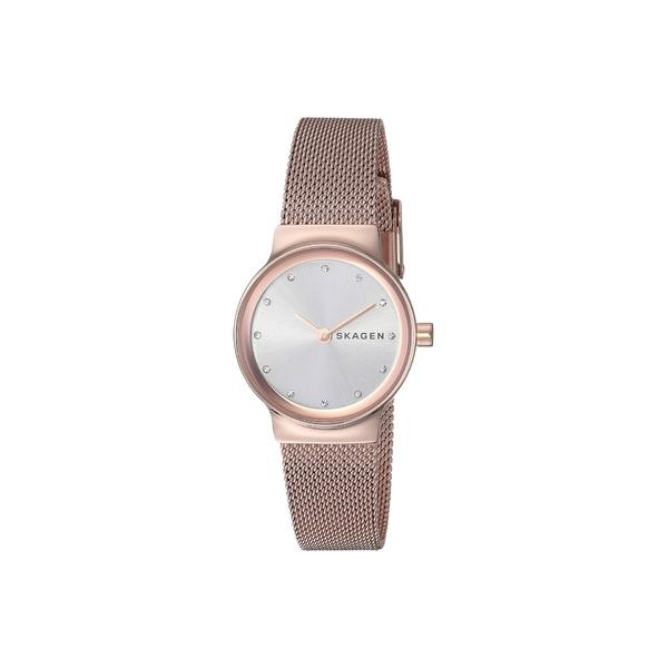 スカーゲン レディース 腕時計 アクセサリー Freja Two-Hand Stainless Steel Mesh Watch SKW2665 Rose Gold Stainless Steel Mesh
