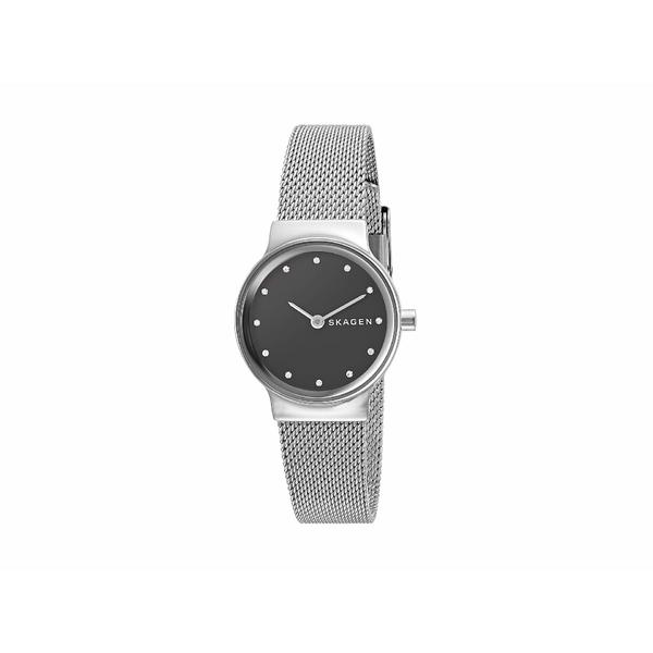 スカーゲン レディース 腕時計 アクセサリー Freja Two-Hand Stainless Steel Mesh Watch SKW2667 Silver Stainless Steel Mesh
