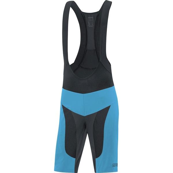 ゴアウェア メンズ サイクリング スポーツ C7 Pro 2in1 Bib Shorts+ - Men's Dynamic Cyan/Black