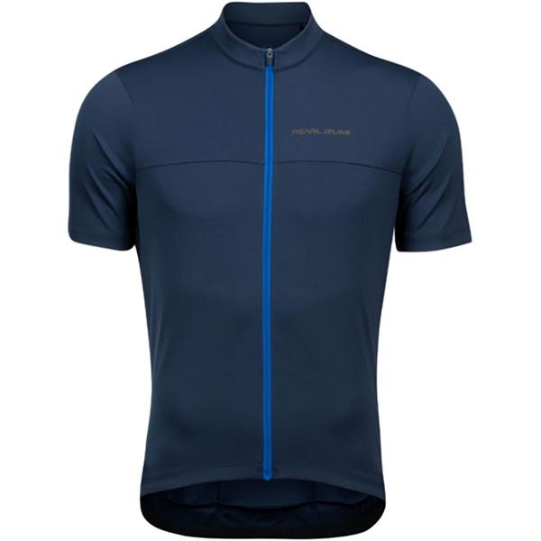 パールイズミ メンズ サイクリング スポーツ Quest Short-Sleeve Jersey - Men's Navy/Lapis