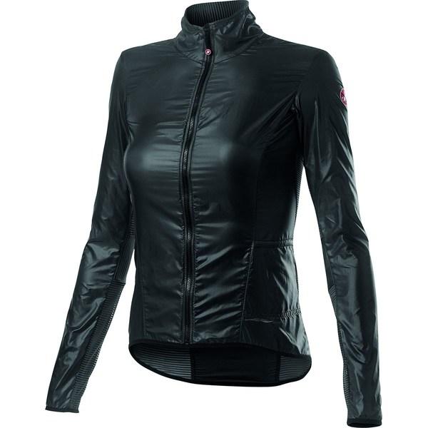 カステリ レディース サイクリング スポーツ Aria Shell Jacket - Women's Dark Gray
