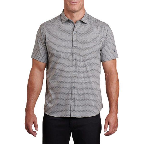 キュール メンズ シャツ トップス Provok Short-Sleeve Shirt - Men's Carbon