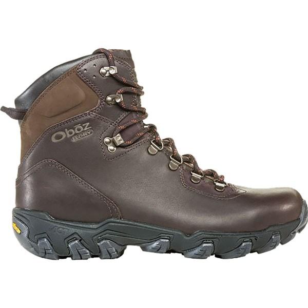 オボズ メンズ ハイキング スポーツ Yellowstone Premium Mid B-Dry Hiking Boot - Men's Espresso