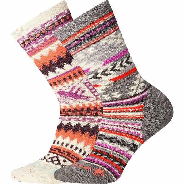 スマートウール レディース 靴下 アンダーウェア CHUP I Sock - 2-Pack - Women's Multi Donegal