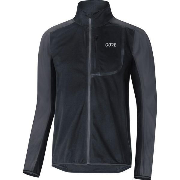 ゴアウェア メンズ サイクリング スポーツ C3 Gore Windstopper Jacket - Men's Black/Terra Grey