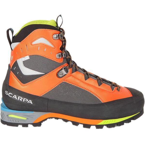 スカルパ メンズ ハイキング スポーツ Charmoz Mountaineering Boot - Men's Shark/Orange