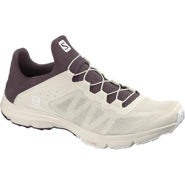 サロモン レディース ランニング スポーツ Amphib Bold Shoe - Women's Vanilla Ice/Winetasting/White
