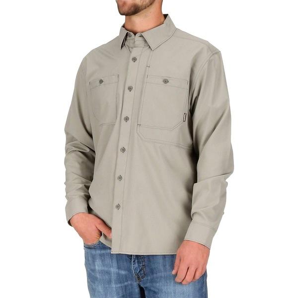 シムズ メンズ シャツ トップス Double Haul Long-Sleeve Shirt - Men's Rock Ridge