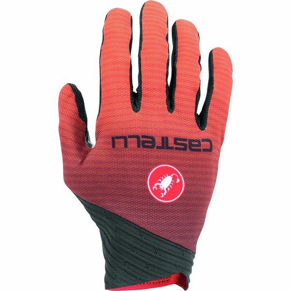 カステリ レディース サイクリング スポーツ CW 6.1 Cross Glove Orange
