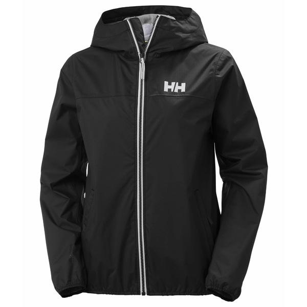 ヘリーハンセン レディース コート アウター Belfast II Packable Jacket Black