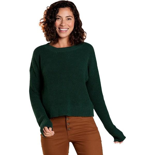 Grove Sweater Pine Bianca アウター - ドード Women's II ニット&セーター レディース アンドコー