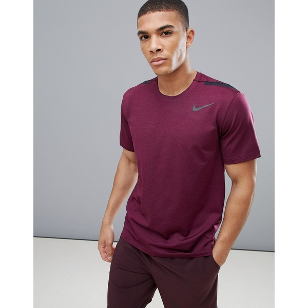 ナイキ メンズ Tシャツ トップス Nike Training Hyper Max T-Shirt In Purple 886749-652 Purple