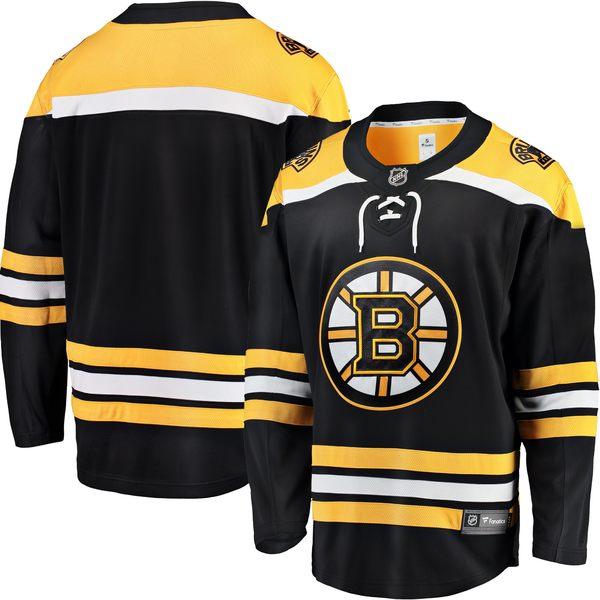 ファナティクス メンズ ユニフォーム トップス Boston Bruins Fanatics Branded Breakaway Away Jersey White