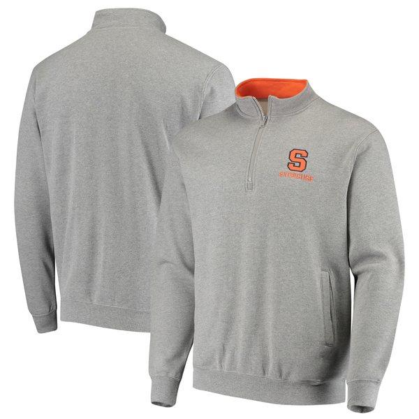 コロシアム メンズ ジャケット&ブルゾン アウター Syracuse Orange Colosseum Tortugas Logo QuarterZip Jacket Navy