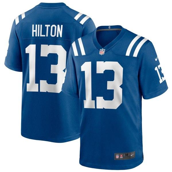 ナイキ メンズ ユニフォーム トップス T.Y. Hilton Indianapolis Colts Nike Game Player Jersey White