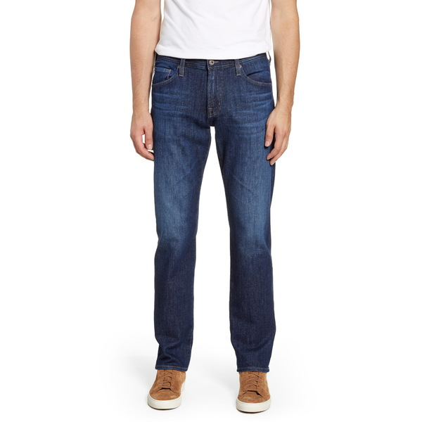 エージー メンズ デニムパンツ ボトムス Graduate Slim Straight Leg Jeans Treble