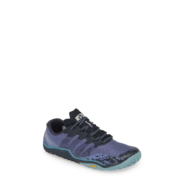 メレル レディース スニーカー シューズ Trail Glove 5 Running Shoe Velvet Morning Fabric