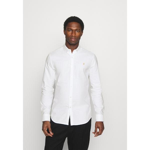 ファーラー メンズ トップス シャツ 全品送料無料 white 買収 全商品無料サイズ交換 - aull0020 BREWER Shirt