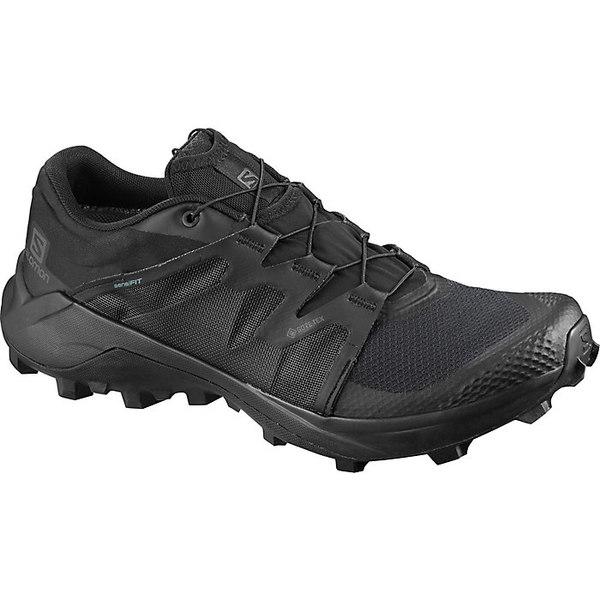 サロモン メンズ ランニング スポーツ Salomon Men's Wildcross GTX Shoe Black / Black / Black