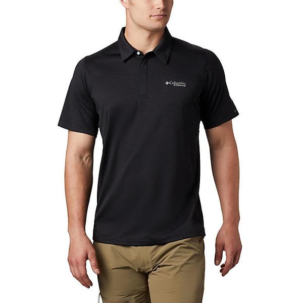 コロンビア メンズ シャツ トップス Columbia Men's Irico Knit Polo Black