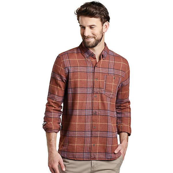 トードアンドコー メンズ シャツ トップス Toad & Co Men's Airsmyth LS Shirt Paprika