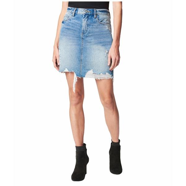 ブランクニューヨーク レディース スカート ボトムス Denim Mini Skirt in Love It or Leave It Love It Or Leave It