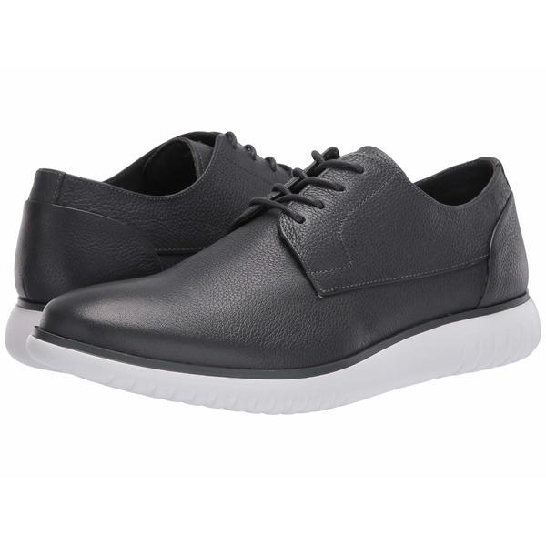 カルバンクライン メンズ ドレスシューズ シューズ Teodor Grey Soft Tumbled Leather