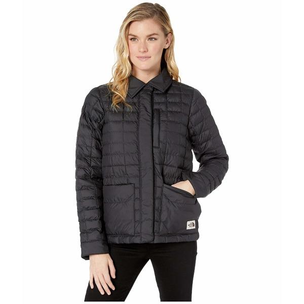 ノースフェイス レディース コート アウター ThermoBall Eco Snap Jacket TNF Black