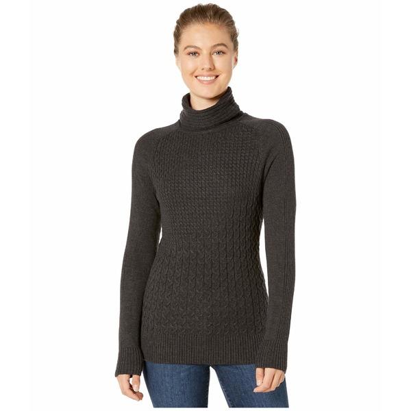 スマートウール レディース ニット&セーター アウター Dacono Ski Sweater Charcoal Heather