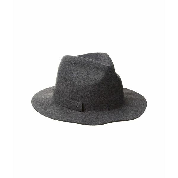 サンディエゴハット レディース 帽子 アクセサリー WFH8205 Packable Felt Fedora Charcoal